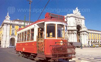 Typerende tram, Lissabon