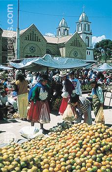 Indiase markt- Cuenca