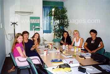 Grieks leren op onze school in Athene