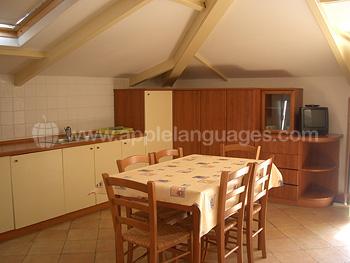 Keuken in gedeelde appartementen