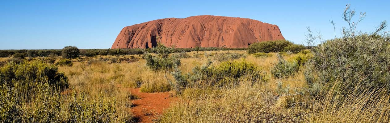 Uluru - Ayers Rock in Australië