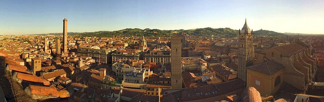 Bologna stad, Italië