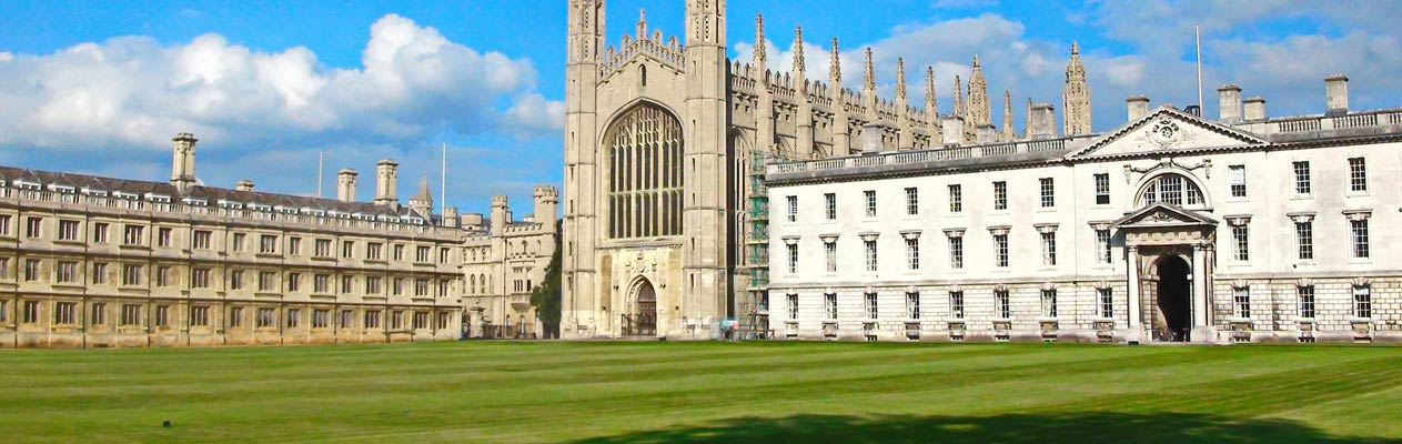 Cambridge's universiteitsgebouwen