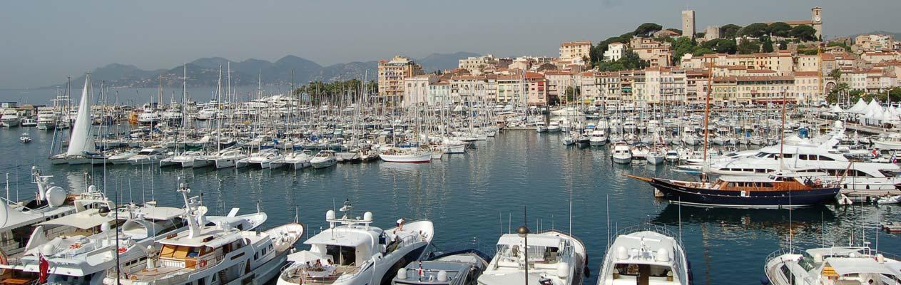 Zeehaven van Cannes, Cannes Frankrijk