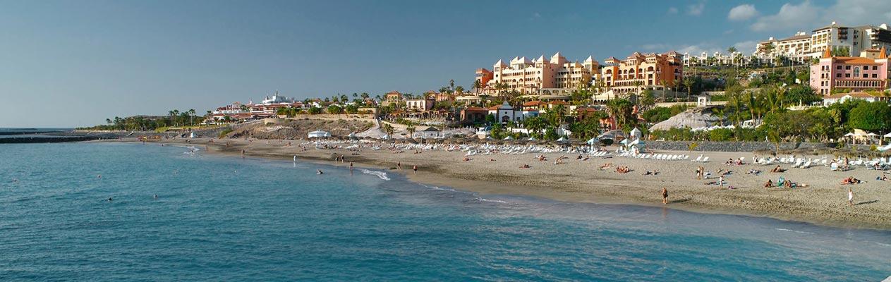 Het strand van Costa Adeje - Playa del Duque, Tenerife