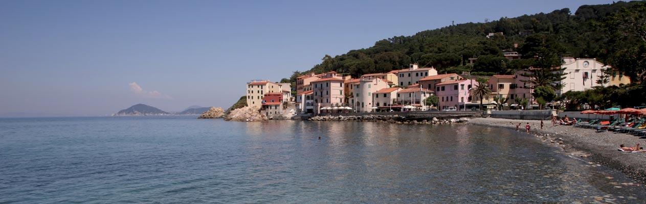 Het eiland Elba, Italië