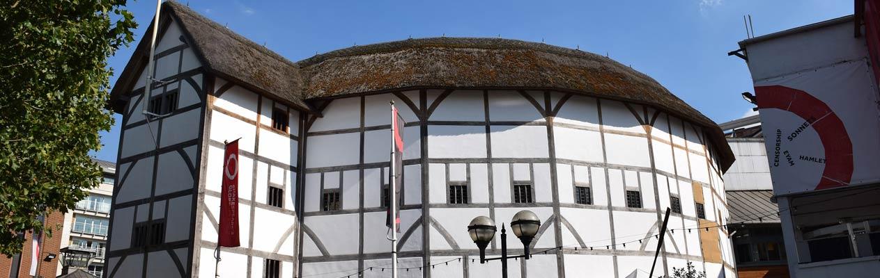 Globe theater, Londen, Engeland
