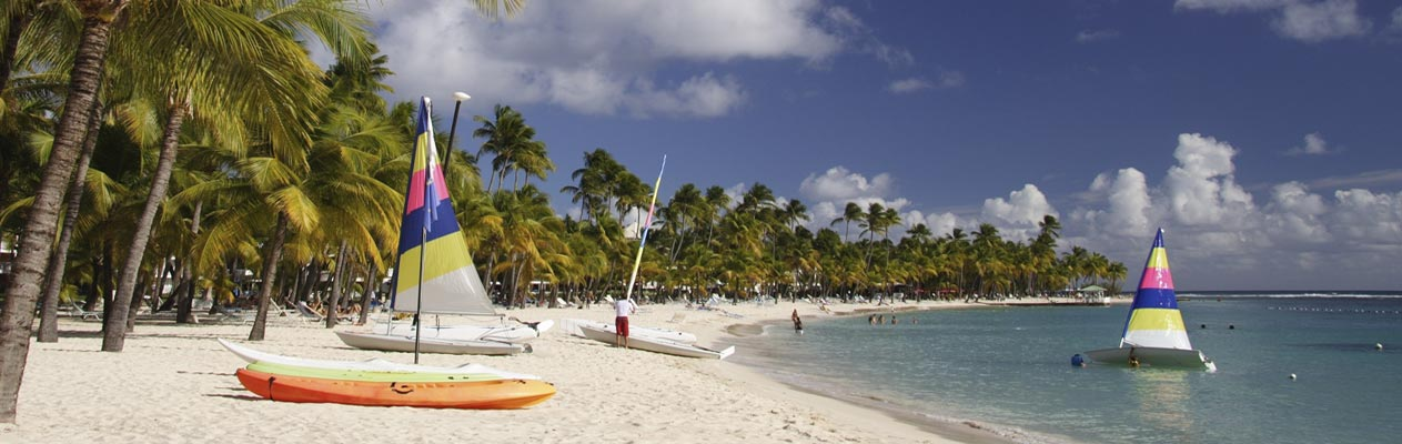 Strand van Le Gosier, Guadeloupe