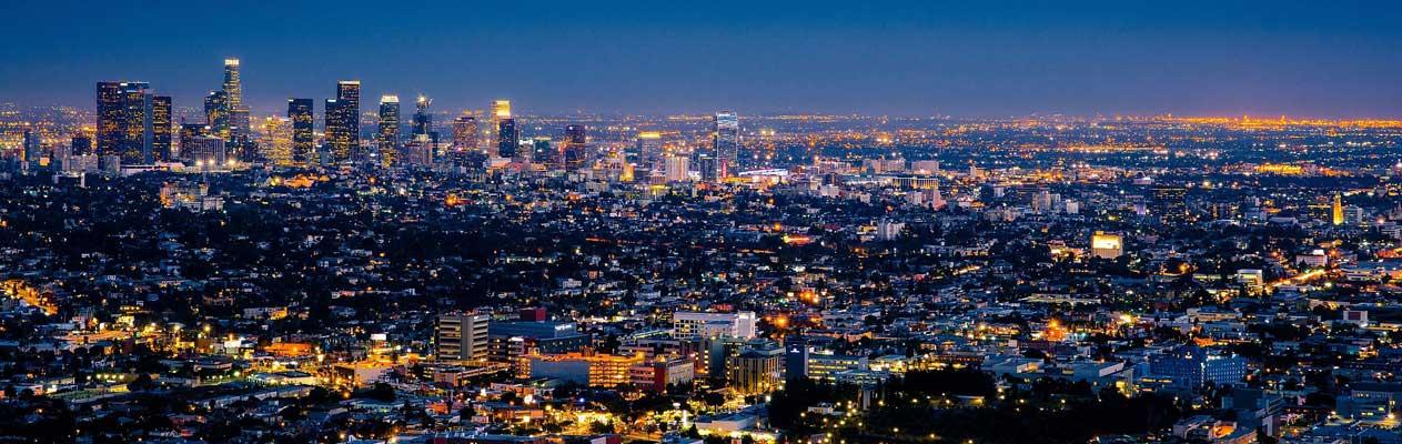 Los Angeles bij nacht