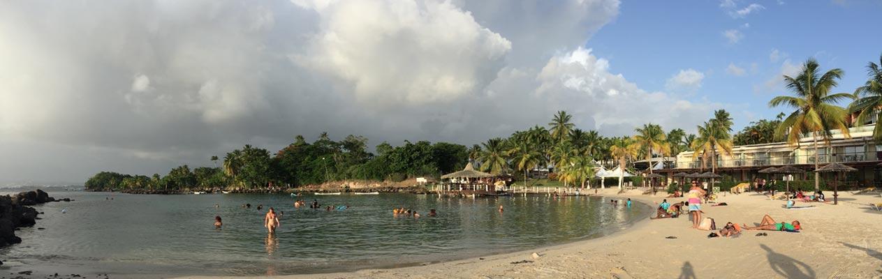 Strand van Martinique