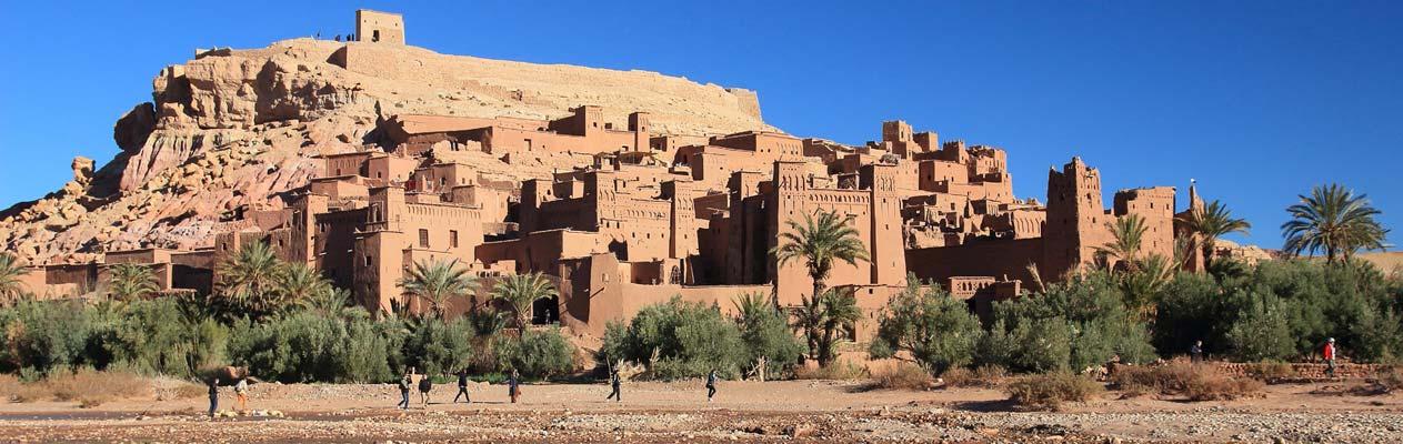 Aït Ben Haddou, UNESCO ksar in Marokko