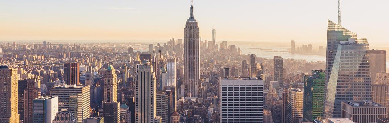New York City skyline, Empire State Building