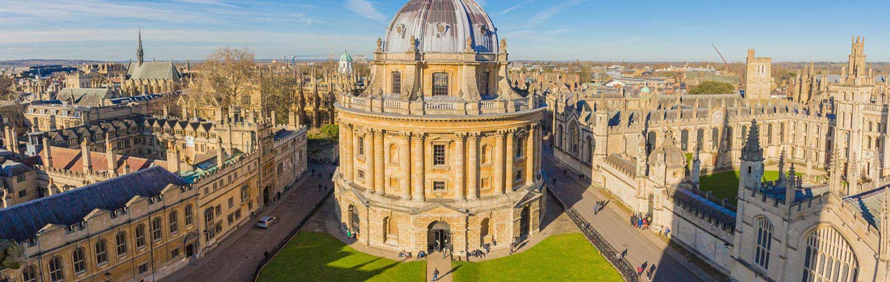 Radcliffe Camera en Universiteitsgebouwen, Oxford