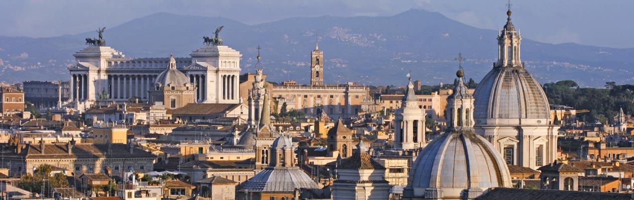 Rome, de indrukwekkende hoofdstad van Italië