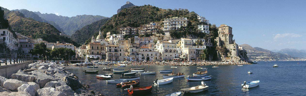 Italiaanse stad Salerno