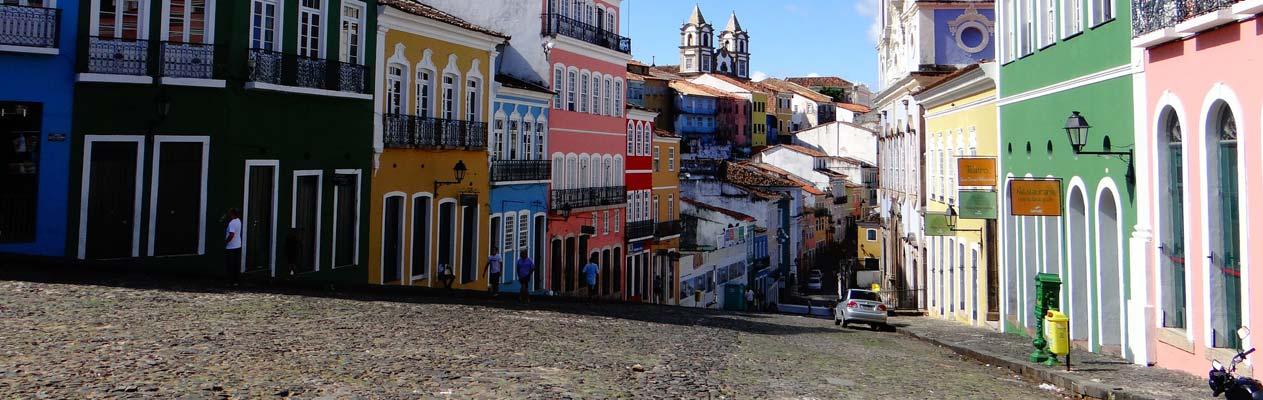 Salvador, hoofdstad van de deelstaat Bahia, Brazilië