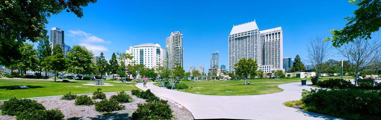Stadscentrum van San Diego, Californië