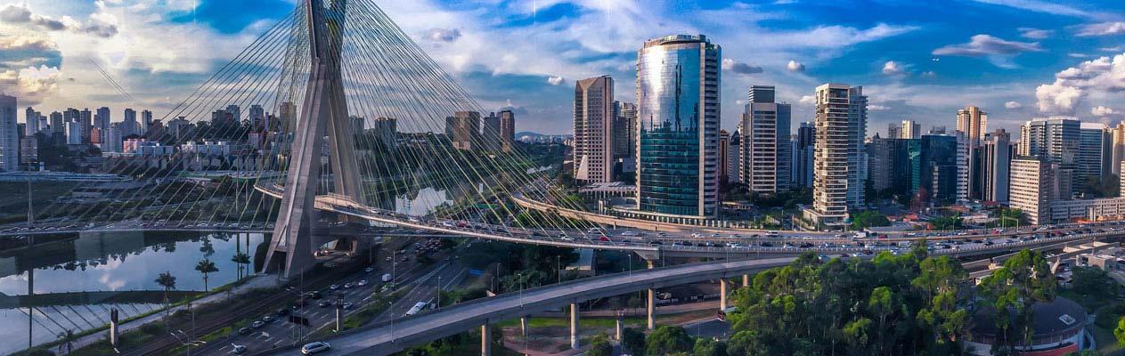 De wereldstad Sao Paulo, Brazilië
