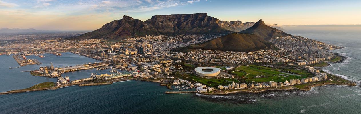 Kaapstad en Tafelberg, Zuid-Afrika
