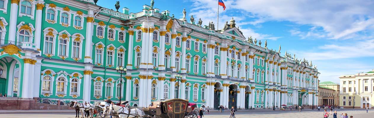Hermitage Museum in Sint-Petersburg, Rusland