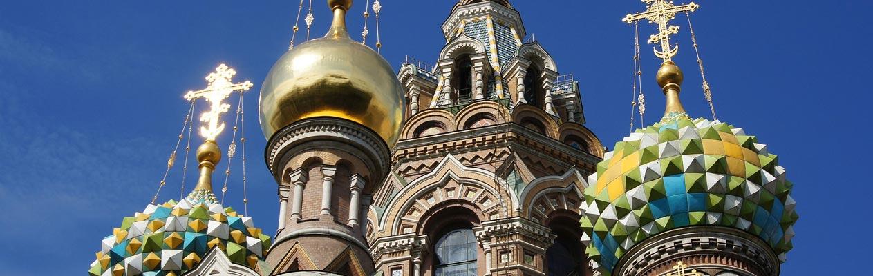 De kerk van de Verlosser op het Bloed, Sint-Petersburg