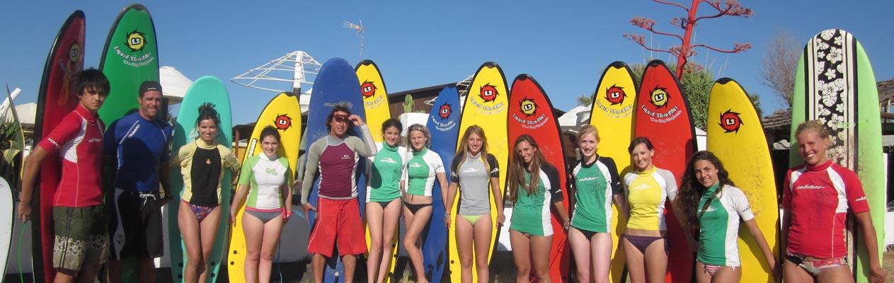 Surfen in Vejer de la Frontera
