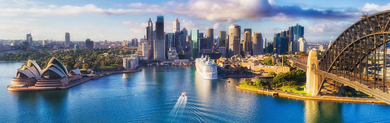 Sydney Opera House, de haven van Sydney, Australië