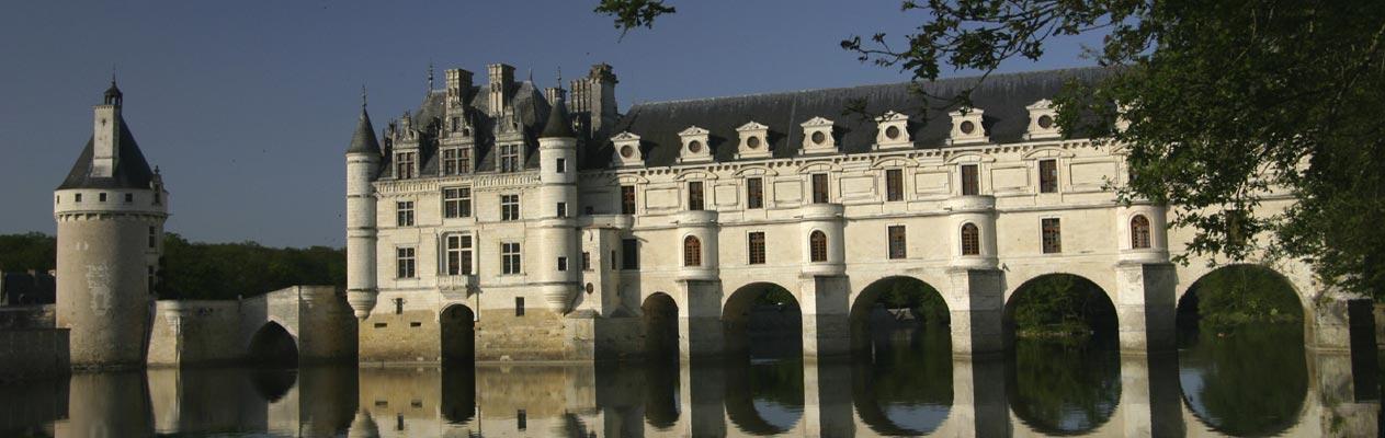 Château de Chenonceau, vlakbij Tours in Frankrijk