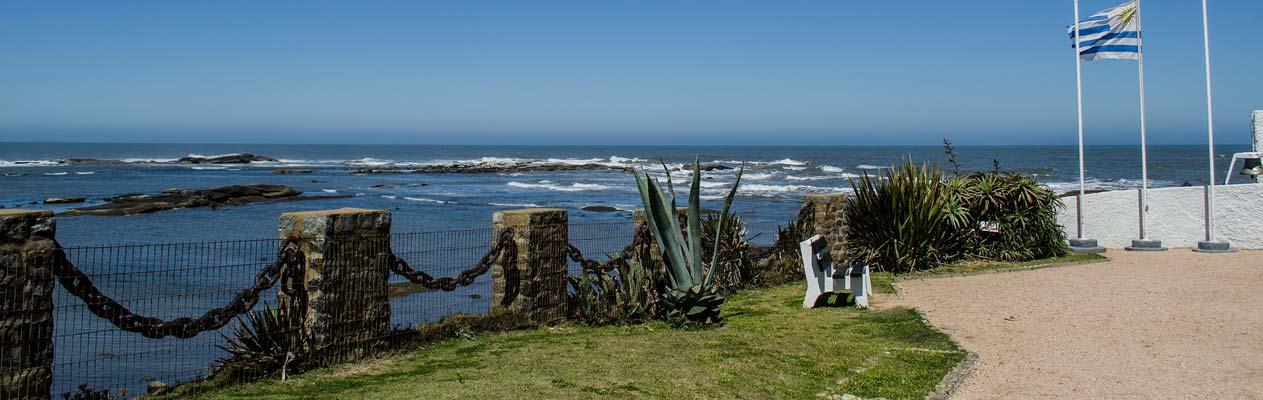 Uruguayaanse kustlijn en vlag